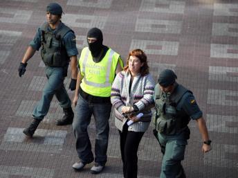 Arrestation d'une membre présumée d'Ekin