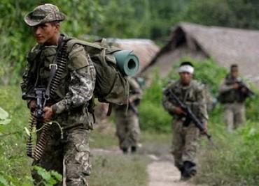 Ratissage des forces spéciales de l'armée péruvienne