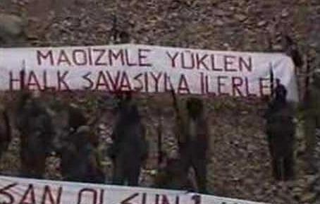 Guérilleros maoïstes du MKP/HKO en Turquie