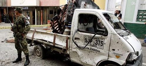Bombe contre le siège de la DAS à Pasto (Colombie)