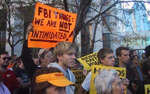 Manifestation à Minneapolis