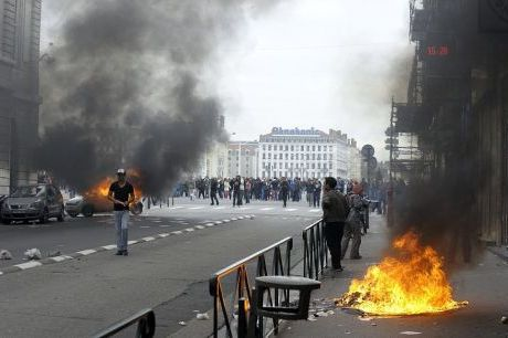 Incidents suite aux manifestations lycéennes à Lyon