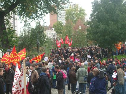 Manifestation anti-répression