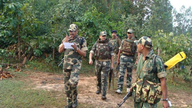 Opération de ratissage des forces de sécurité