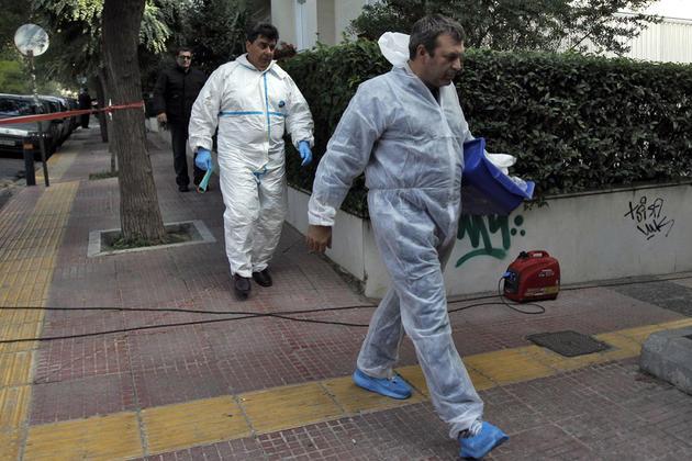Bombe à l'ambassade de Suisse à Athènes