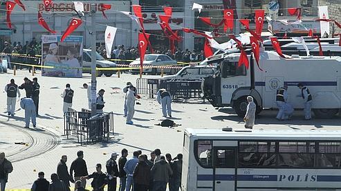 Explosion-suicide à Istanbul