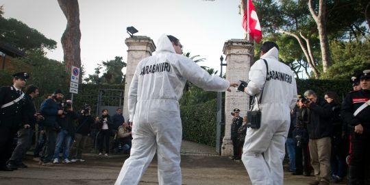 Bombe à l'ambassade de Suisse à Rome