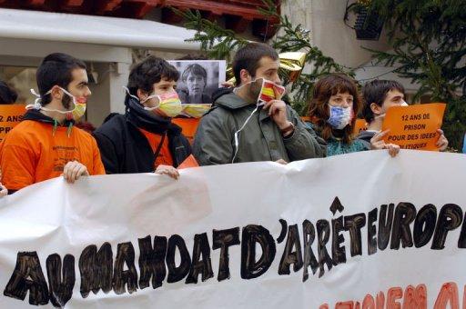 Manifestation pour Aurore Martin