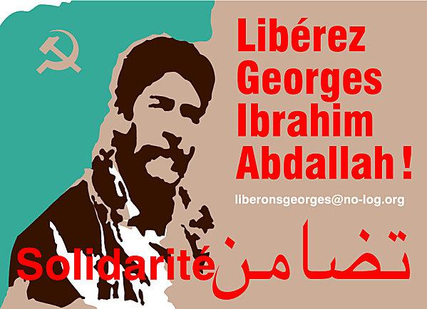 Carte de solidarité avec Georges Ibrahim Abdallah