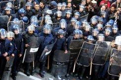 Déploiement policier à Alger