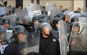 Force de police en Tunisie