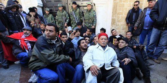 Siège du gouvernement à Tunis