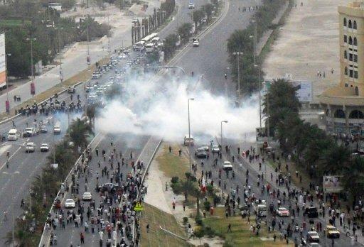 Manifestation à Manama