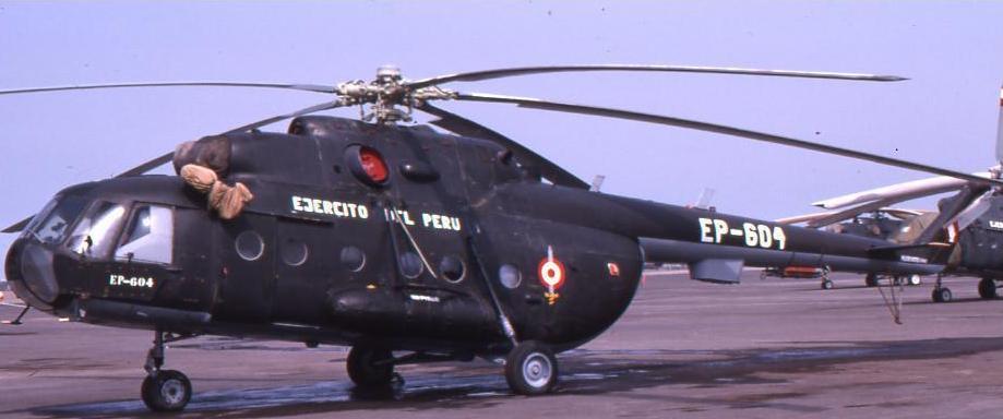 Mi-17 péruvien