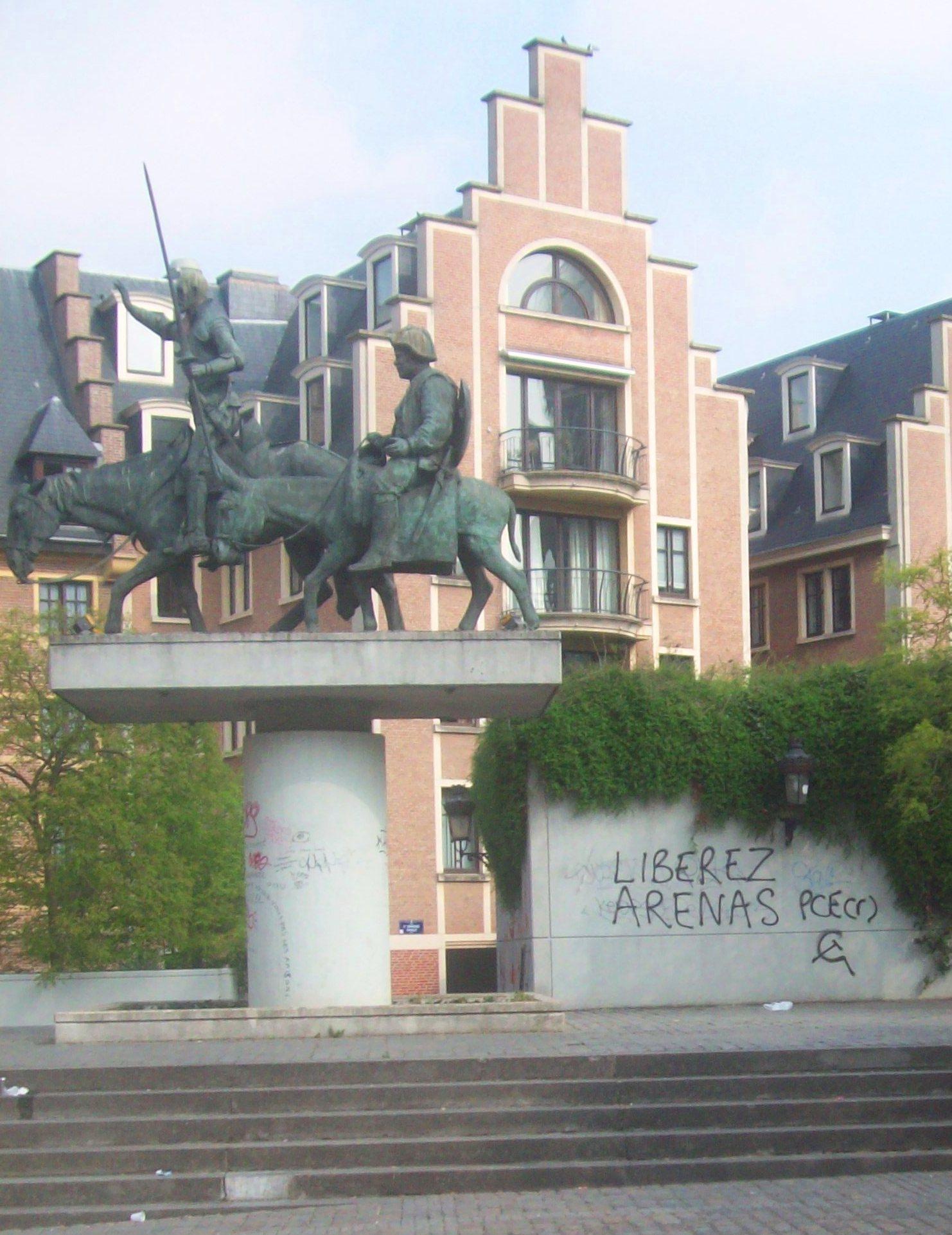 bombage pour Arenas à Bruxelles