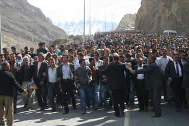 Manifestation à Hakkari