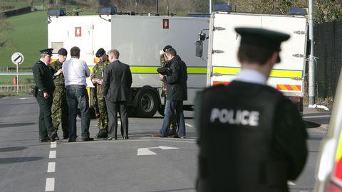 Policier abattu en Irlande du nord