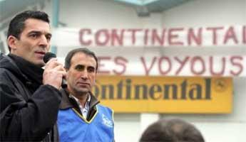 Xavier Mathieu, délégué à Continental-Clairvoix
