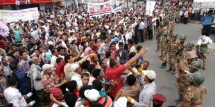 Manifestation à Sanaa