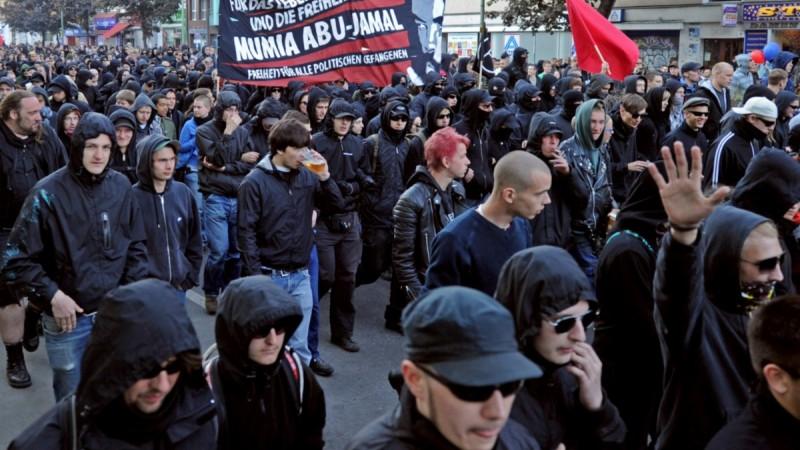 Premier mai révolutionnaire à Berlin