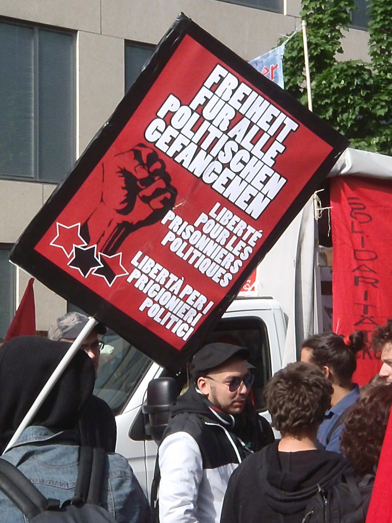 Manifestation 1 mai Zurich