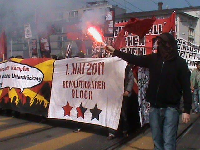Manifestation 1 mai à Zurich