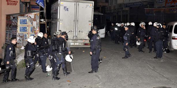 Raids contre trois collectifs par l'unité antiterroriste de la police d'Istanbul