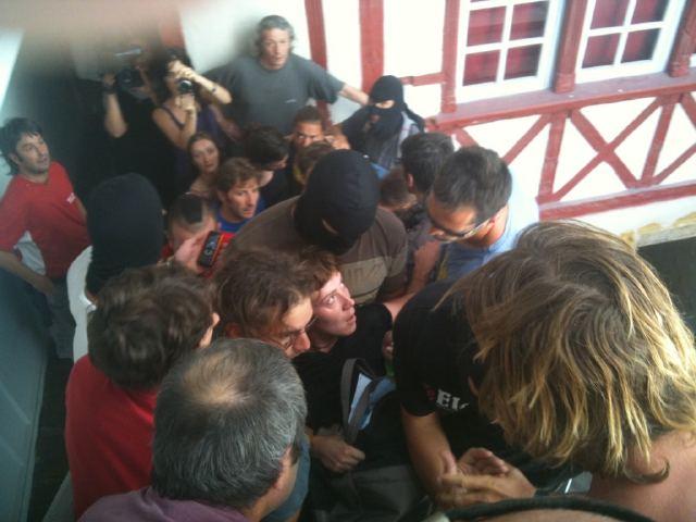 Arrestation manquée d'Aurore Martin