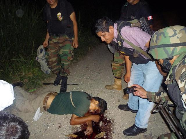 Informateur de police abattu par les maoïstes au Pérou