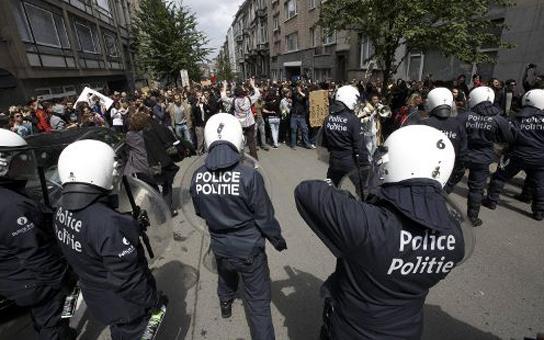 Manifestation des indignés à Bruxelles