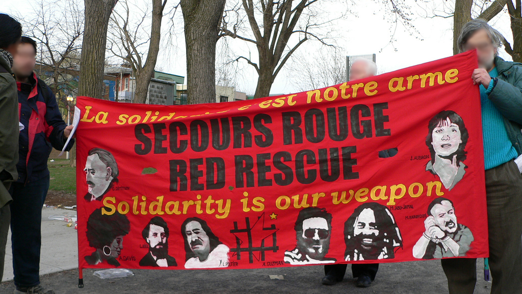 Calicot du Secours Rouge canadien