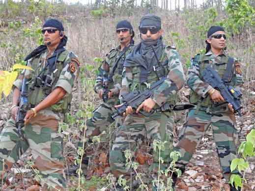 Soldats de la CRPF