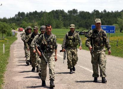 Opération de ratissage contre le PKK