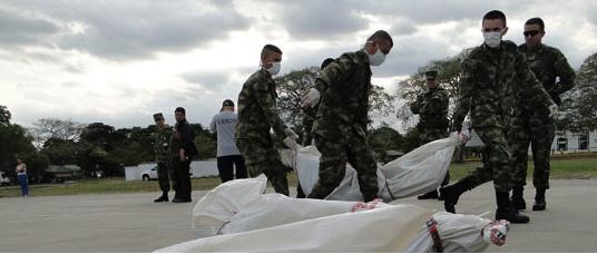 Corps de guérilleros des FARC