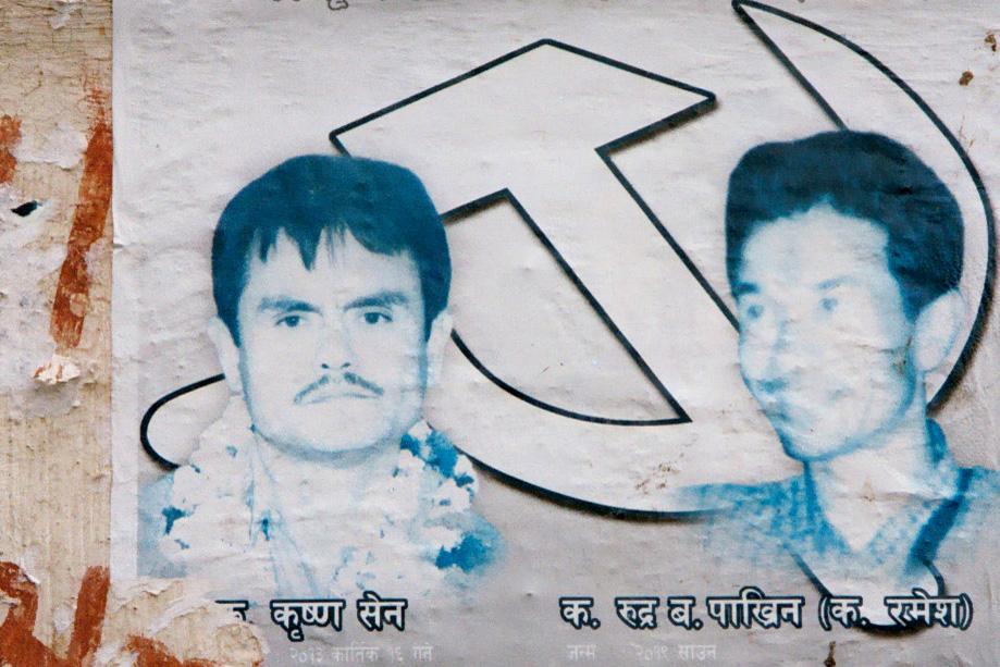 Affiches pour la libération des prisonniers maoïstes