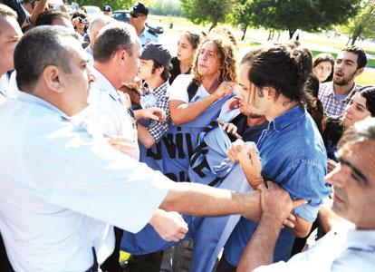 Manifestation d'étudiants en Turquie