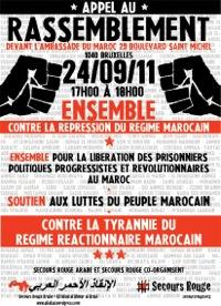 Manifestation pour les prisonniers marocains
