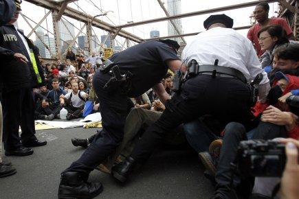 Arrestations à New-York