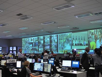 Centre de surveillance policière à Perth