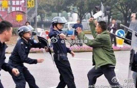 Emeutes en Chine