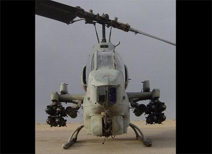 Hélicoptère Super Cobra