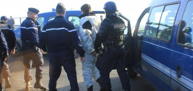 Arrestation de militant anti-nucléaire