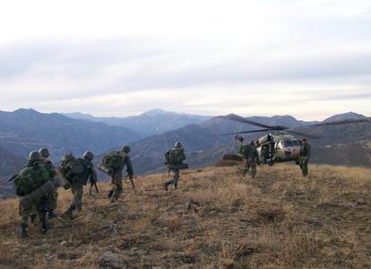 Opération aérienne de contre-guérilla