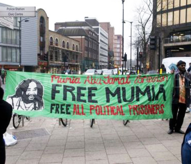 Manifestation pour Mumia