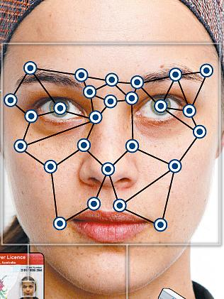 Cartographie du visage