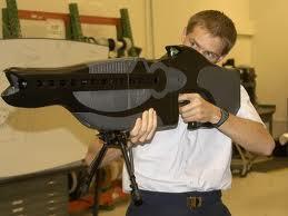 Prototype du fusil-laser PHASR