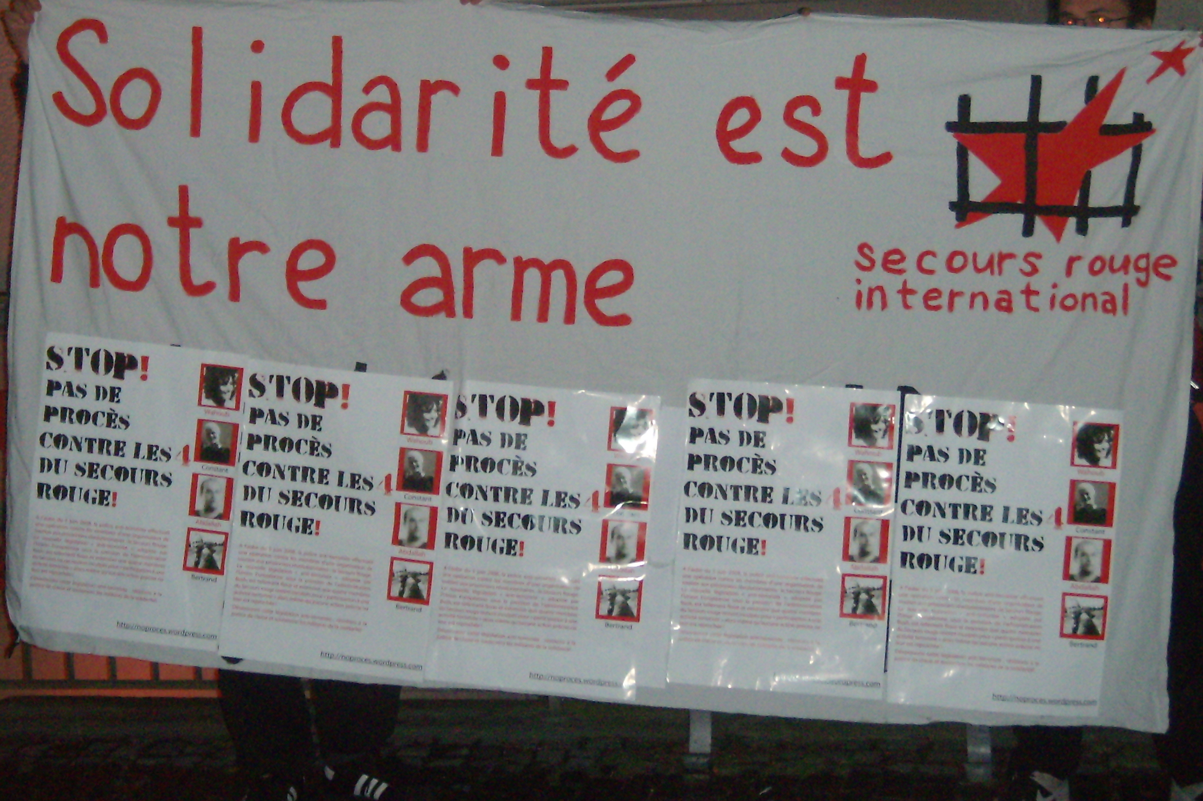 Banderole solidaire (Zurich)