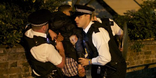 Arrestation à Londres