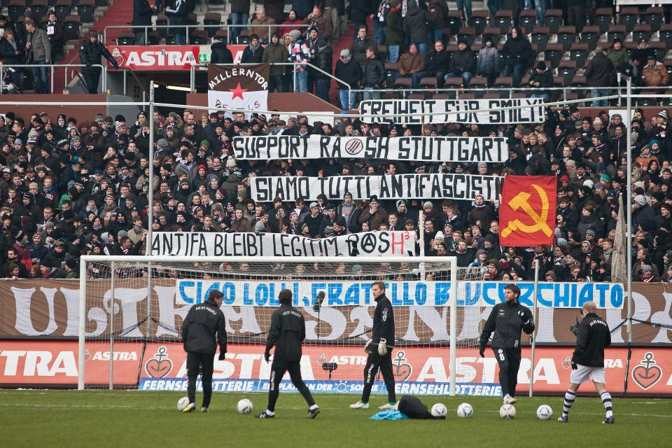 FC ST Pauli vs Bochum antifa