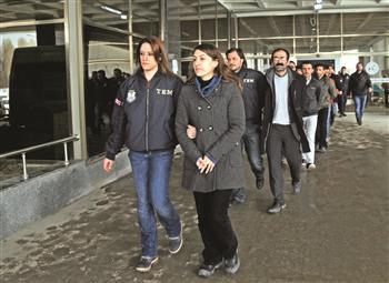 Arrestations en Turquie
